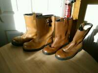 BOOTS for Winter. Riggers