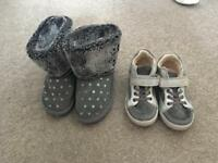 Size 7 toddler shoes/ boots