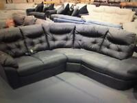 Dfs four seater power recliner corner sofa