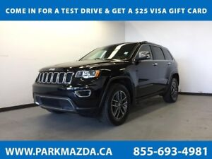2017 Jeep Grand Cherokee Limited 4x4 - Bluetooth, Remote Start,