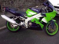 1998 Kawasaki ZX6R G1, Needs a bit of work. For sale