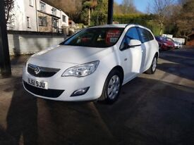 Vauxhall Astra 1.7 CDTi ecoFLEX 16v Exclusiv 5dr WARRANTY, CARD PAYMENTS, CAR4YOU DRIVE AWAY TODAY