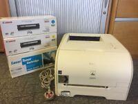 Canon i-Sensys LBP5050n printer & 3 ink cartridges