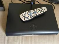 Sky+HD box with remote & cable