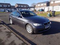 57 REG BMW 320D SE,6 SPEED MANUAL,10 MONTHS MOT,152K 07707755411