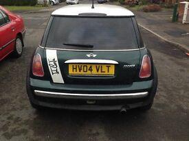 MINI COOPER Hatchback 1.6 petrol 04 plate Manual 1,200