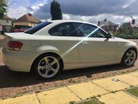 Excellent Condition BMW 1 Series Coupe 118D Sport White