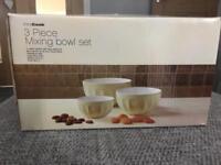 Pro cook mixing bowl set