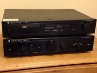 Cambridge Audio CD player and amplifier