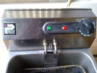 Parry Single Electric Fryer