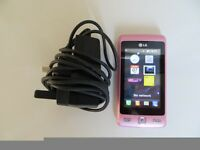A NICE CLASSIC A NICE RARE LG KP501 SMART MOBILE PHONE WITH CHARGER , MINT