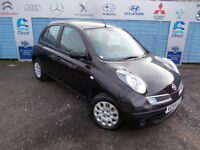 PART X DIRECT OFFERS VERY CLEAN MICRA 1.2 COMES WITH NEW MOT, SERVICE+WARRANTY FINANCE AVAILABLE !