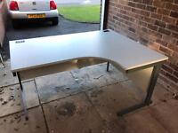 Office Desk - Light Grey