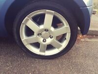 Ford Street Ka Alloys and Low Profile Tyres