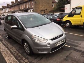 FORD S-MAX 2007 1.8 DIESEL 2007 FULL SERVICE HISTORY HPI CLEAR LOTS OF RECEIPT CLEAN CAR NEW MOT