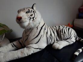 Tiger teddy large