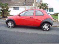 FORD KA 1.3 ZETEC LOW LOW MILEAGE VERY CLEAN CAR