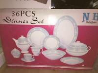 BRAND NEW- 36 piece dinner set