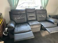 2 3 seater reclining sofas