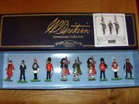 Britain's metal soldier presentation set - All The Queen's Men Ceremonial Collection - Mint