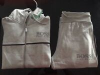 Full outfit Man Hugo Boss Green Tracksuit