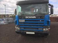 Scania hookloader waggon £10,000 @ vat 02 reg