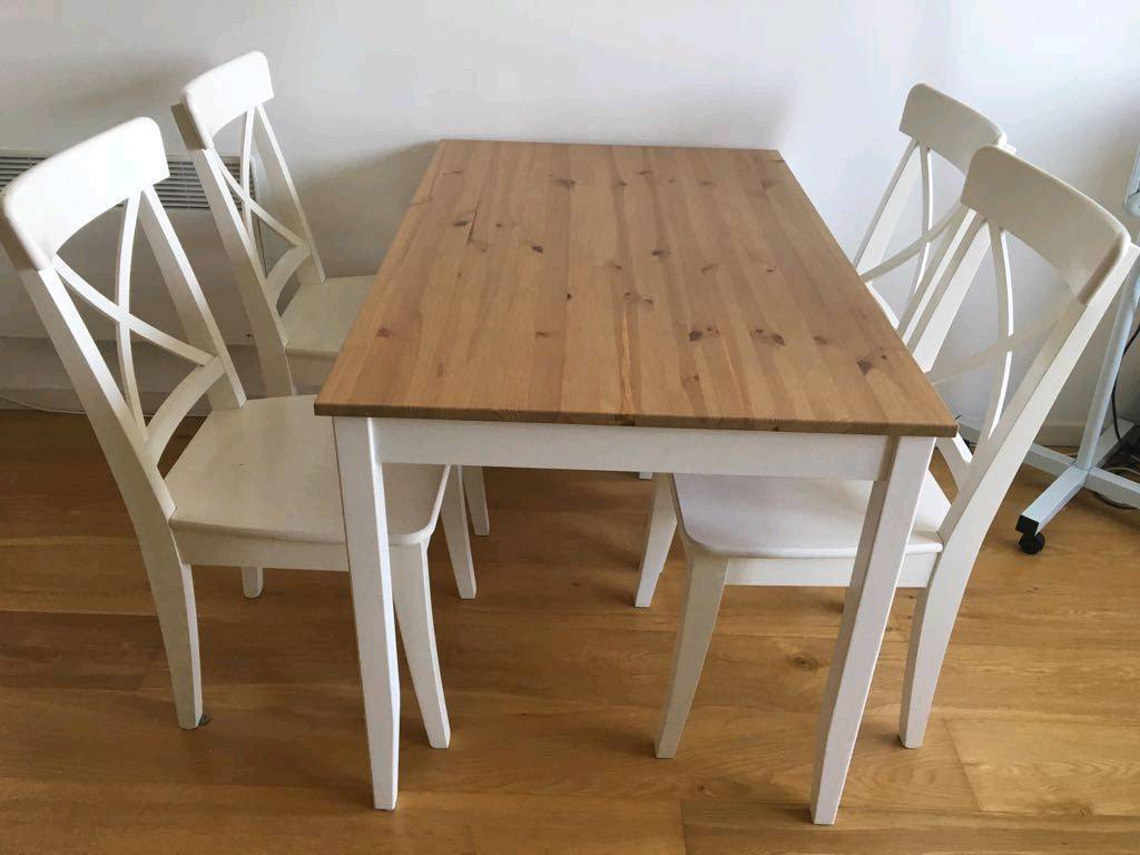 Ikea Dining Table Lerhamn In Woodford London Gumtree