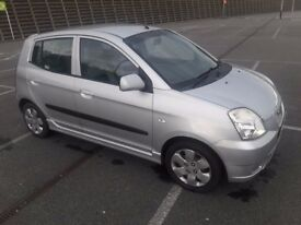 KIA Picanto 1.1 Glamour. Leather seats, New MOT, Low Miles 48k only, Service History.