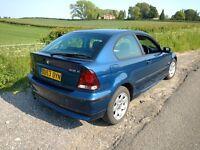 BMW 318 ti SE Compact E46