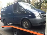 2006 Ford Transit mk6 2.2 TDCi 85ps 260 SWB FWD blue BREAKING FOR SPARES