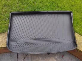 Genuine Audi A1 fitted boot liner