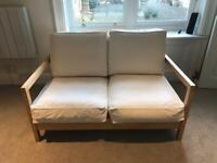 IKEA cream sofa