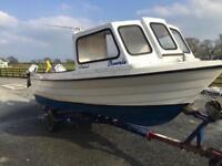 Fishing boat Shetland