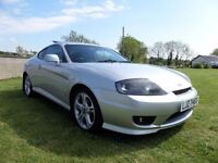 2007 HYUNDAI COUPE 2.0 SE..ONLY 59000 MILES MOTED TO OCTOBER..POSSIBLE PART EXCHANGE