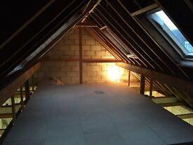 Building work undertaken. RSJ's. Chimney removal. Glazing. Central heating. Rewire.. Plastering. Etc