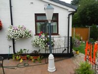 Large Electric Garden Lamp Post