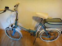 Vintage Universal folding bike/bicycle