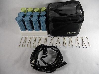 (Conair HS28 Hot Roller Travel Set Ion Shine Instant Heat Compact Styling Setter)
