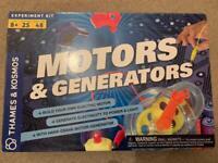 Motors and Generators educational / fun set for kids