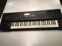 Korg i4s keyboard workstation.