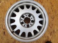BMW alloy wheel from e38 7 series
