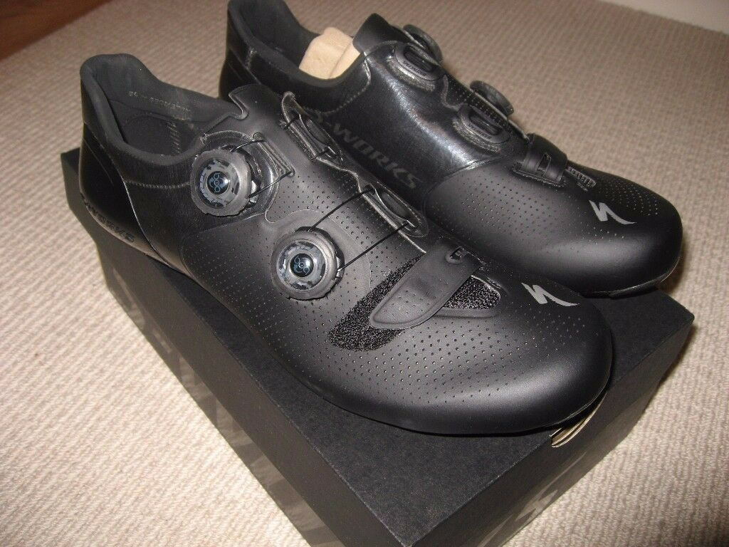 specialized s works 6 road cycling shoes brand new 43 and. Black Bedroom Furniture Sets. Home Design Ideas
