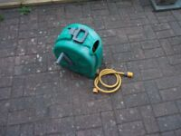 hozelock reel garden hose pipe