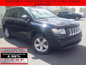2011 Jeep Compass SPORT NORTH EDITION AWD MAGS