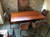 Good quality Dining Table plus 6 chairs from John Lewis