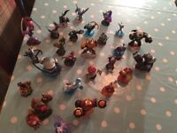 Sky landers giants characters, portal and game
