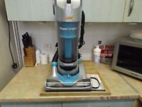 vax power compact hoover in good condition new belt fitted