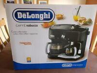 De'Longhi Combi Coffee Maker - Lightly Used