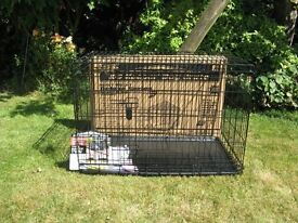 "Brand New, Unused, K9 Deluxe Keeper Dog Crate. 36"" x 23"" x 26"" (915x585x660)"