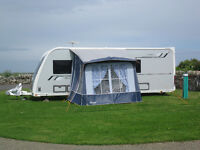 Caravan Porch Awning - Cadet Ventura (Blue). Little used. Excellent condition.
